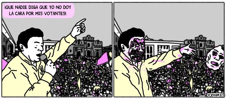 Dando la cara
