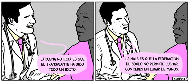 El transplante