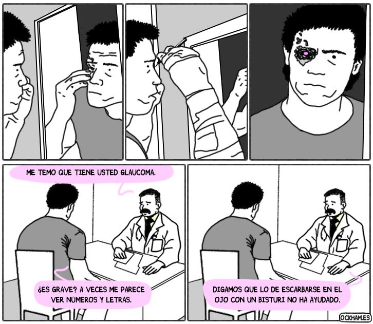 Terminator frente al espejo